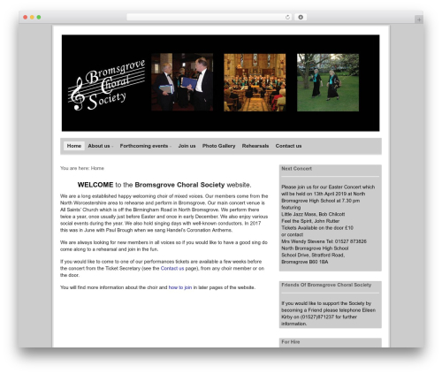 Free WordPress Google Maps All In One plugin - bromsgrovechoralsociety.org.uk