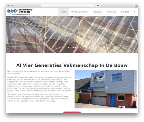 Wimpie Lite free WP theme - bouwbedrijfwagenaar.nl