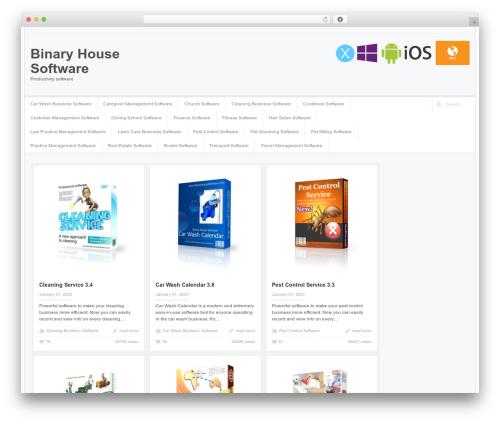 Accord - Responsive WordPress Blog Theme WordPress theme - binaryhouse.com