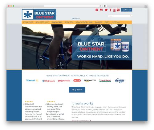 Blue Star Ointment V3 Theme Wordpress By Sweb Development