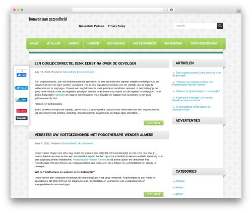 HealthCare theme free download - bouwenaangezondheid.nl