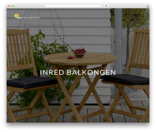 Ness WordPress theme - blogg.brasommarmobler.se