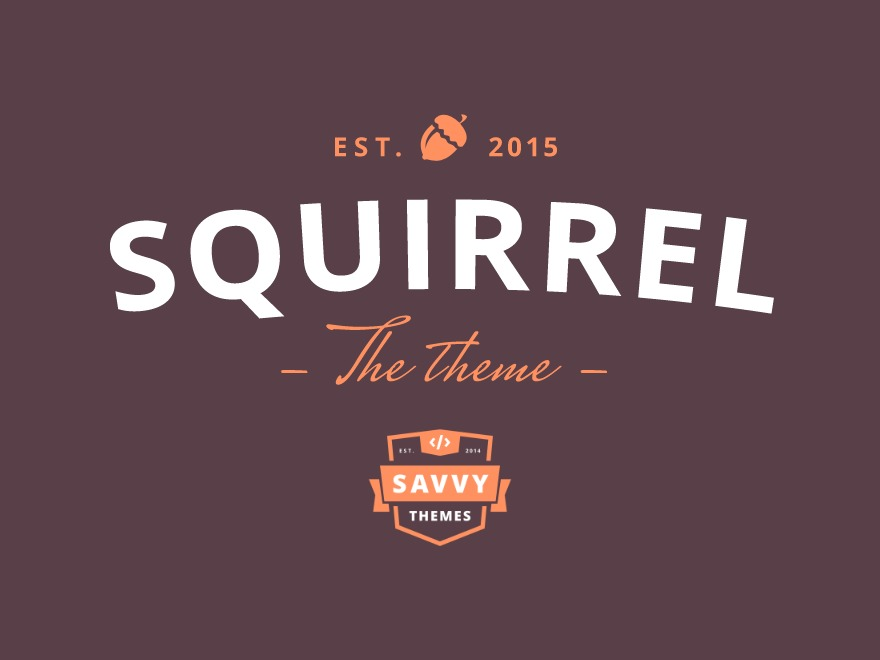 ST Squirrel (Share On Theme123.Net) WordPress ecommerce template