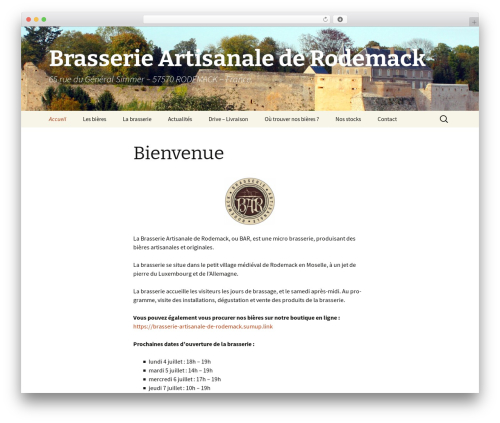 Twenty Thirteen theme WordPress free - b-a-r.fr