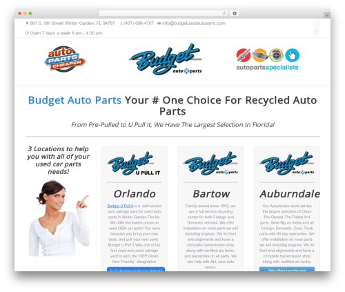 WordPress popup-press plugin - budgetusedautoparts.com