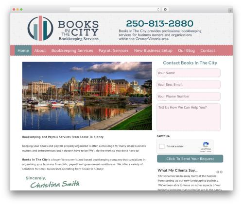 Dynamik-Gen WordPress theme - booksinthecity.ca