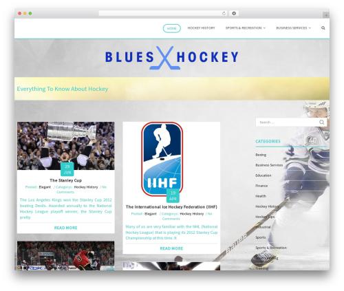 Eminent WordPress free download - blueshockey.com