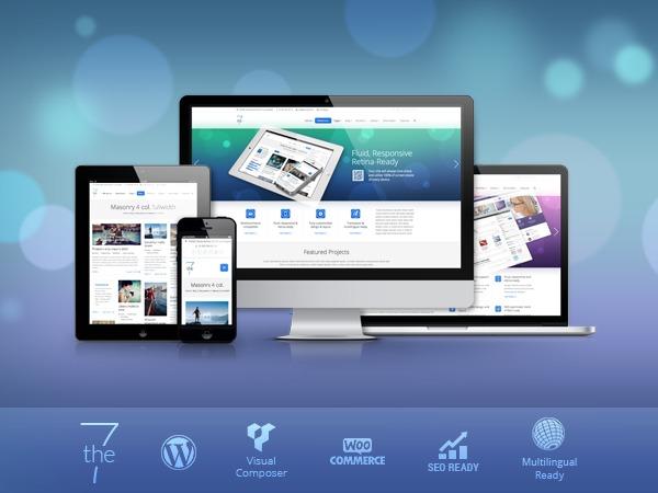 The7 WordPress theme design