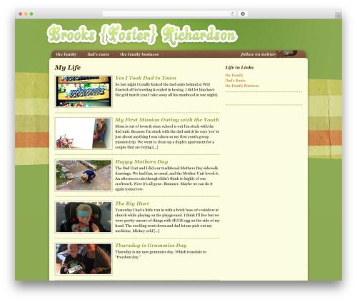 Theme WordPress Genesis - brooksfosterrichardson.com
