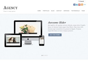 Agency best WordPress template