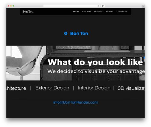 Black Label theme WordPress - bontonrender.com