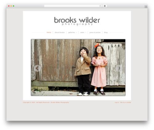 Blissful-Blog photography WordPress theme - brookswilderphotography.com