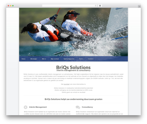 Razor best WordPress template - briqssolutions.nl