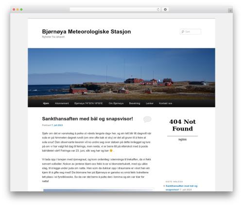 Twenty Eleven WordPress template free download - bjornoya.org