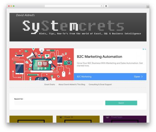 Sueva WordPress template by Theme in Progress  - oekotec de
