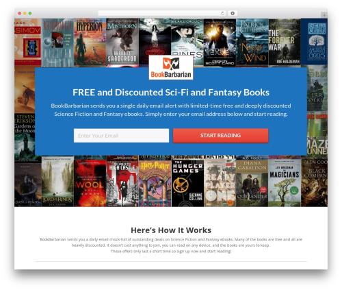 Free WordPress Amazon Product in a Post Plugin plugin - bookbarbarian.com