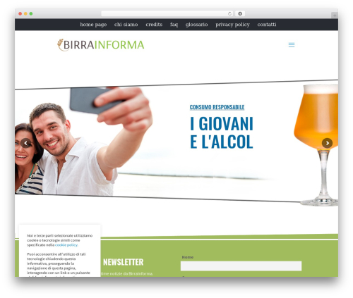 Best WordPress theme Betheme - birrainforma.it