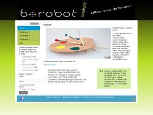 borobot2 WordPress theme