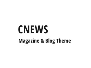 cNews (shared on themelock.com) WordPress blog template