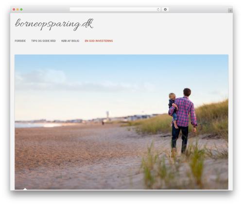 SuevaFree WordPress theme - borneopsparing.dk