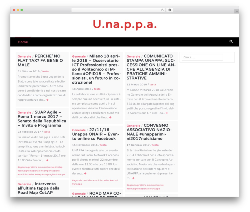 Template WordPress Latest - blog.unappa.it