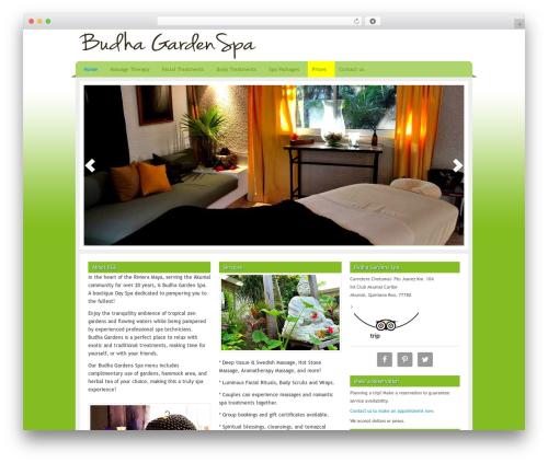 Template WordPress Serenity Child Theme - budhagardenspa.com