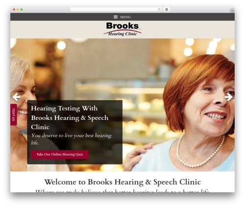 WordPress theme Merriweather - brookshearing.com