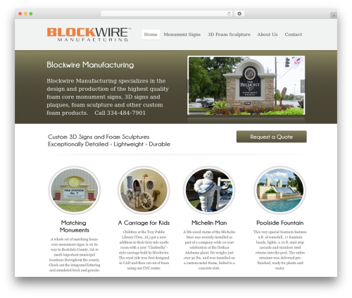 WP template Poloray  Pro Responsive Theme - blockwire.com