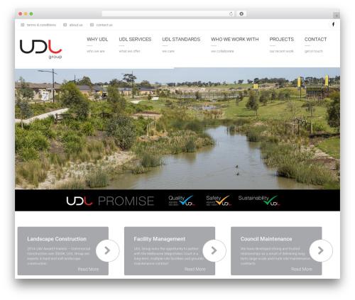 Arkitekt garden WordPress theme - udlgroup.com.au