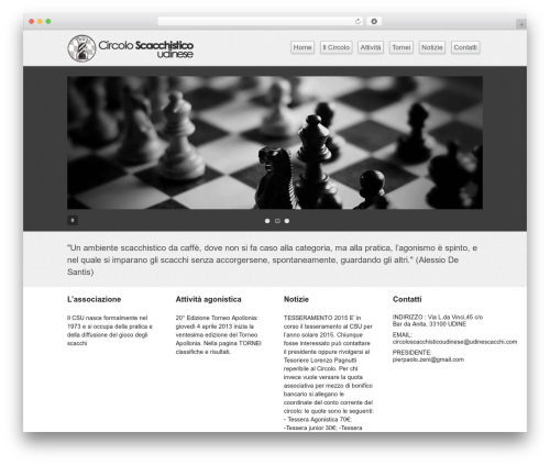Business lite WordPress theme download - udinescacchi.com