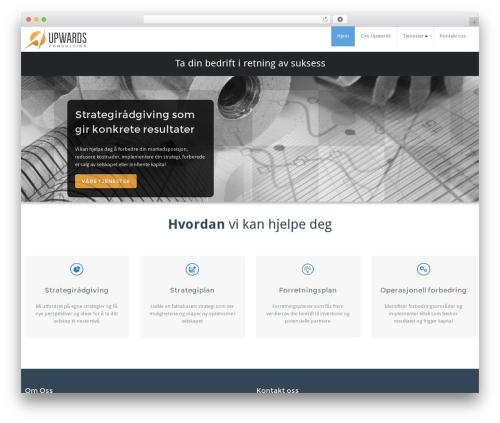 BusiProf Pro theme WordPress - upwards.no