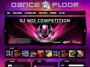 Dance Floor WP theme