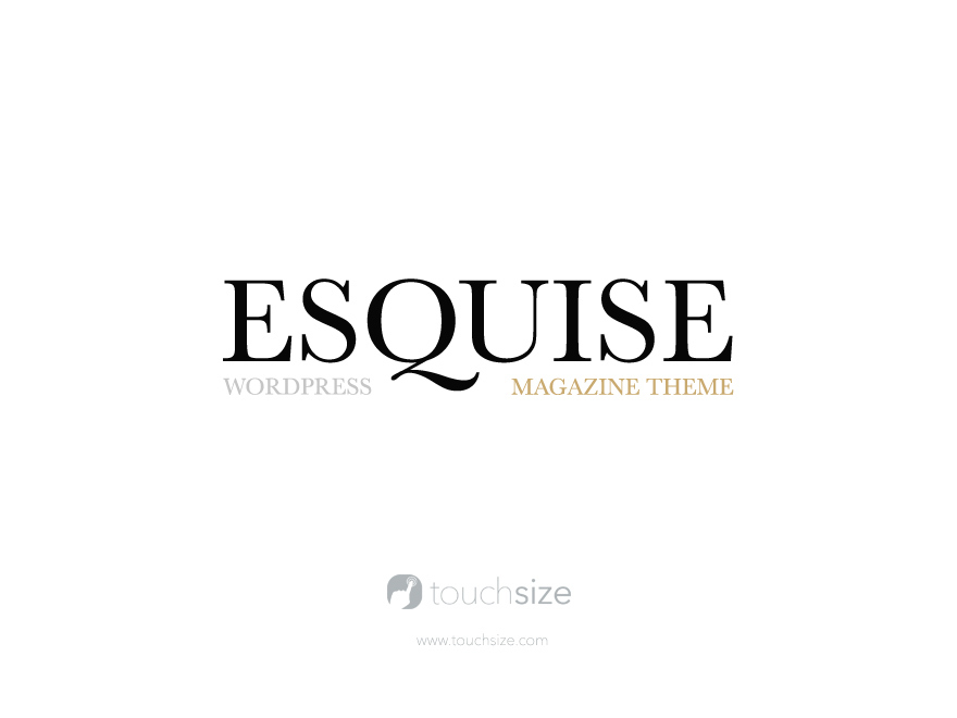Esquise theme WordPress