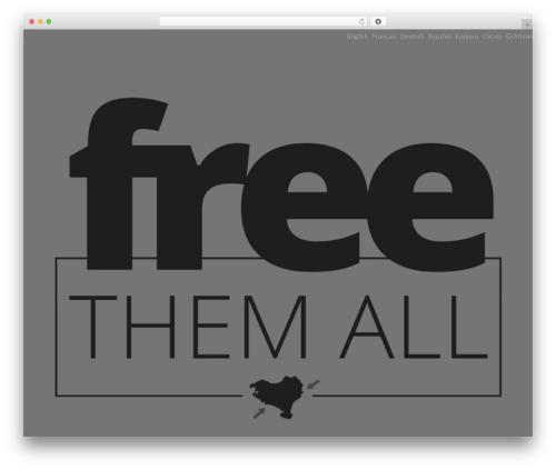 Iridescent WordPress theme design - freeotegi.com