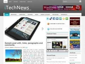 iTechNews best WordPress magazine theme