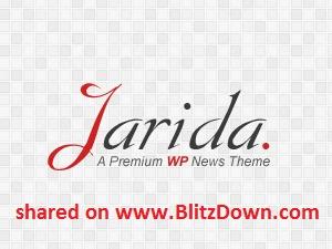 Jarida (shared on www.BlitzDown.com) WordPress magazine theme