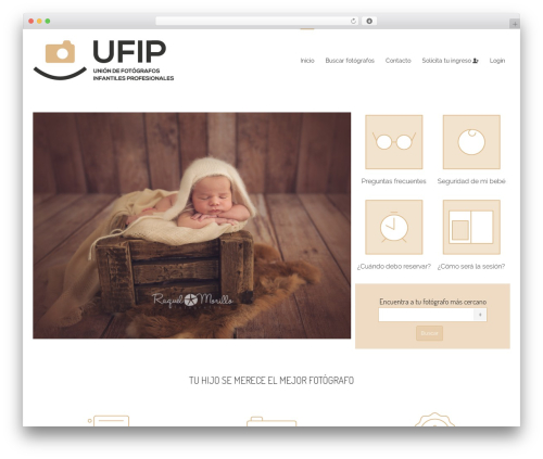 Kleo theme WordPress - ufip.es