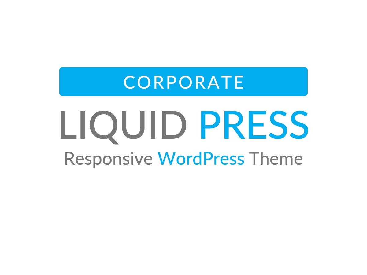 LIQUID CORPORATE WordPress template