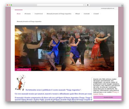 Lounge best WordPress template - unotango.it