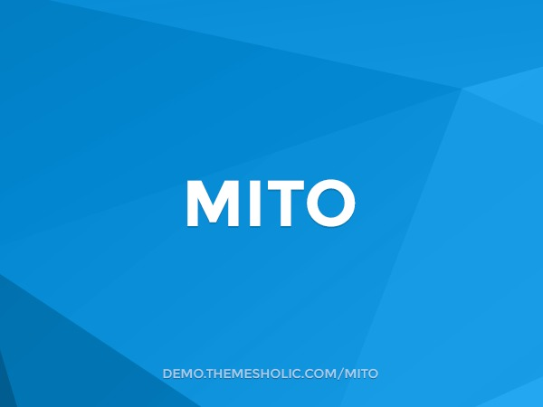 Mito best WooCommerce theme
