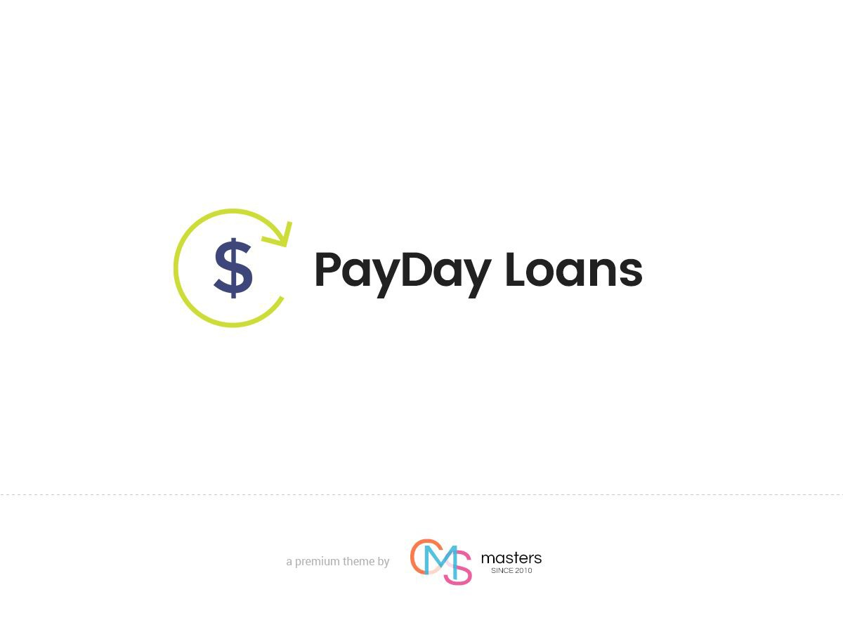 Payday Loans personal WordPress theme