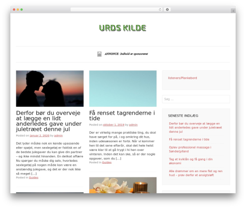 Pho WordPress template free download - urds-kilde.dk