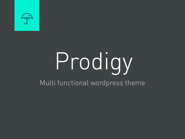 Prodigy Child WordPress theme