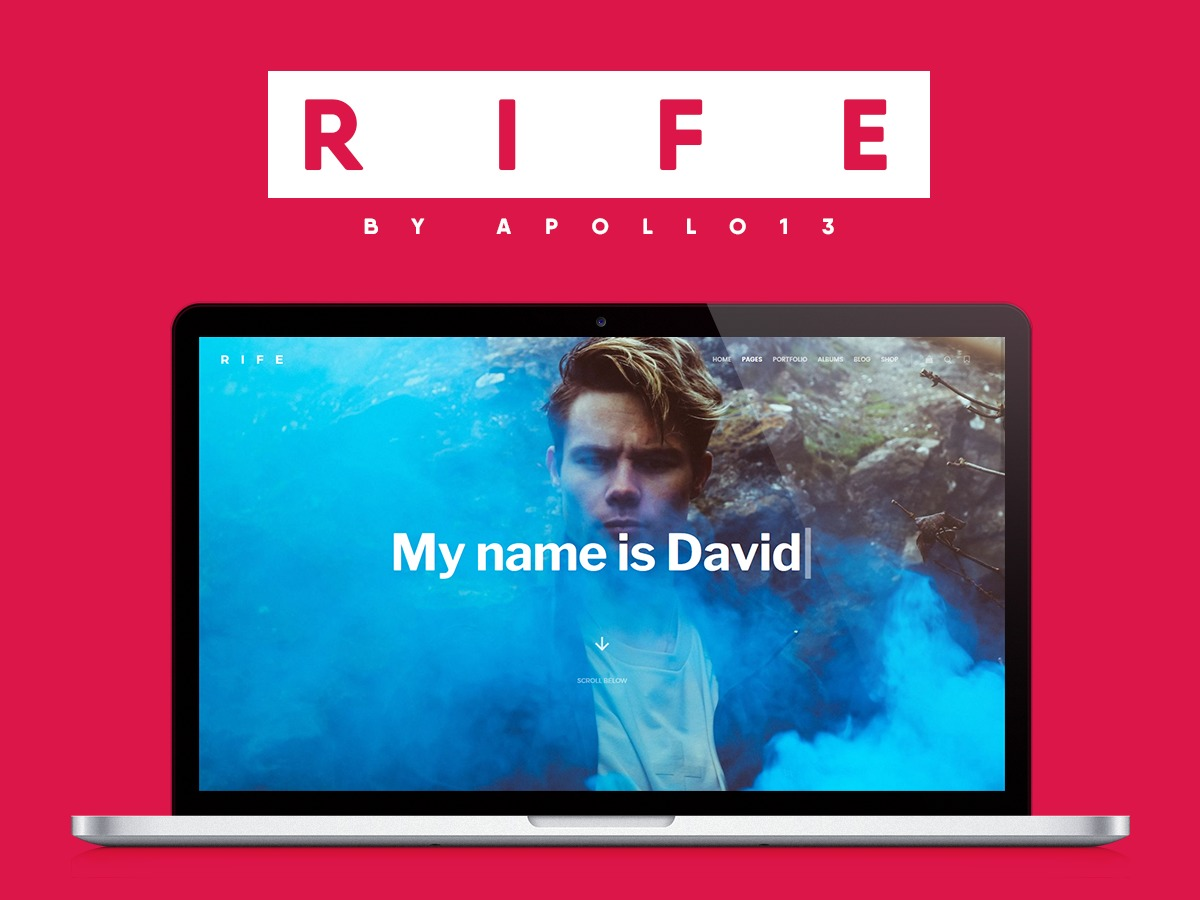 Rife theme WordPress