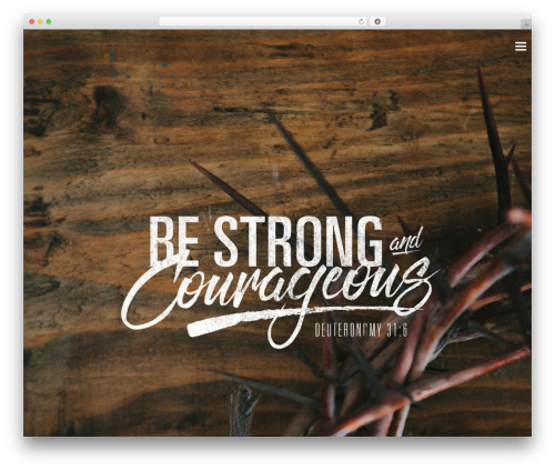 Sharefaith Church Website Template WordPress page template - fbchenrietta.org