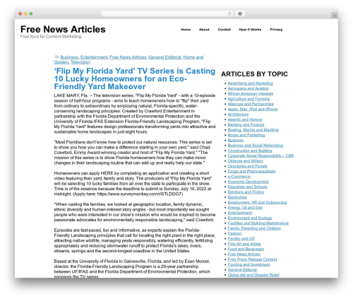 Simon WP Framework best WordPress magazine theme - freenewsarticles.com
