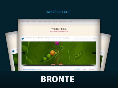 Theme WordPress Bronte