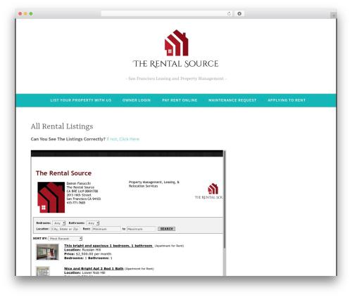 Free WordPress WP Slick Slider plugin - therentalsource.com