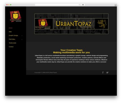 Theme WordPress Divi - urbantopaz.com