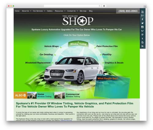 Free WordPress Slick Sitemap plugin - thespokaneshop.com